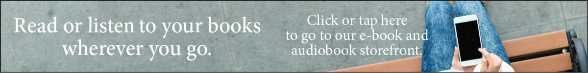 Click here to shop for audio book and eBooks